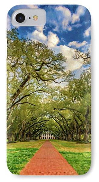 Oak Alley 7 - Paint IPhone Case