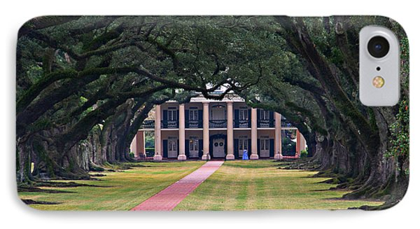 Oak Alley IPhone Case by Perry Webster