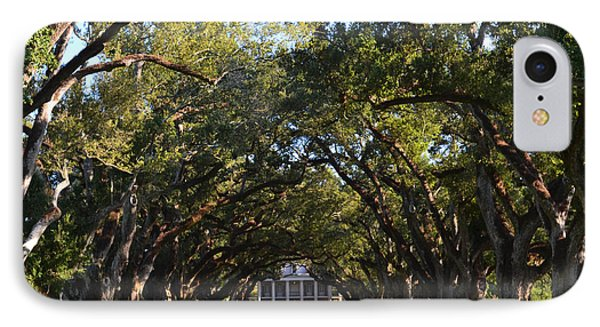Oak Alley Plantation IPhone Case by Maggy Marsh