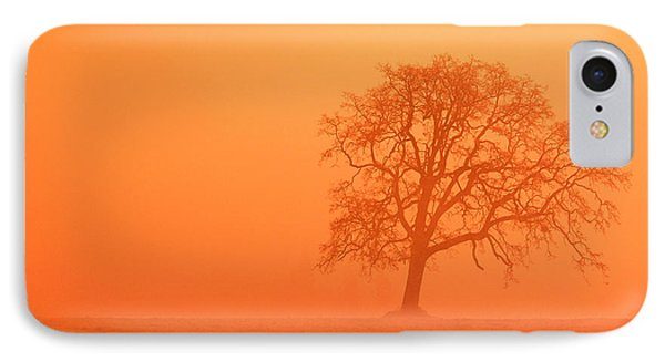 Oak At Sunrise Phone Case by Greg Vaughn - Printscapes