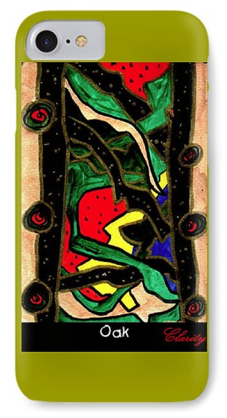 IPhone Case featuring the painting Oak by Clarity Artists