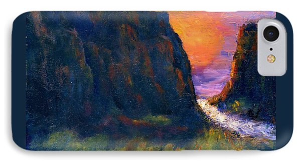 IPhone Case featuring the painting Oak Creek Canyon by Gail Kirtz