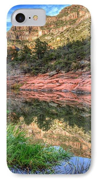 Oak Creek Canyon IPhone Case by Tom Weisbrook