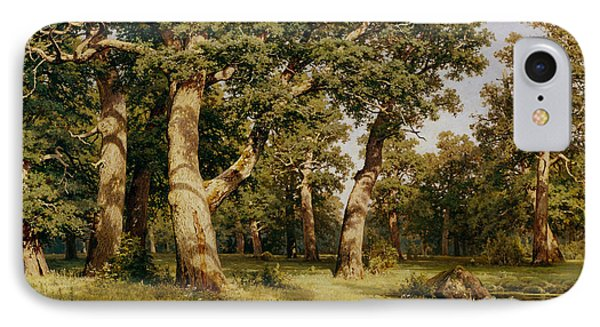 Oak Grove IPhone Case by Ivan Ivanovich Shishkin