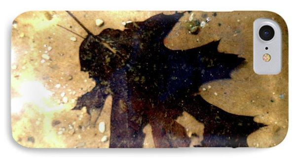 Oak Leaf Underwater IPhone Case by Tara Hutton