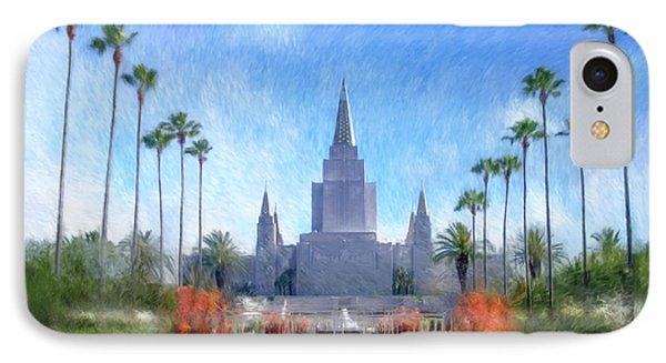 Oakland Temple No. 1 IPhone Case