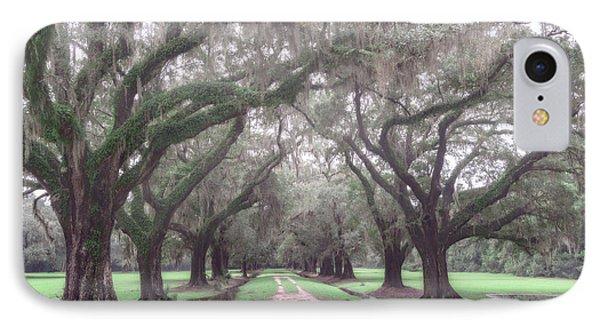 Oaks In Laurel Hill Park, Mount Pleasant, Sc IPhone Case by Rick Berk