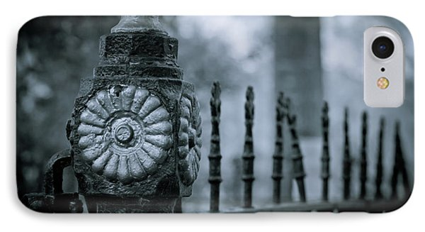 IPhone Case featuring the photograph Oakwood Cemetery by Linda Unger