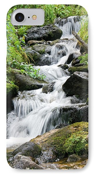 IPhone 7 Case featuring the photograph Oasis Cascade by David Chandler