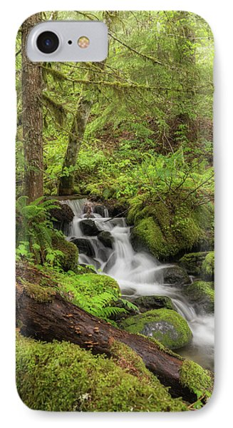 IPhone Case featuring the photograph Oasis In The Forest by Angie Vogel