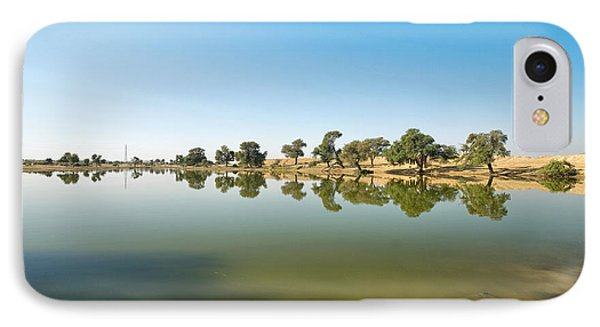 IPhone Case featuring the photograph Oasis by Yew Kwang