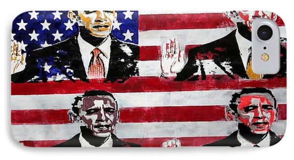 Obama 2 IPhone Case by Jorge Berlato