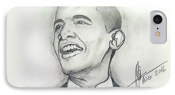 Obama 3 IPhone Case