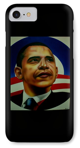 Obama IPhone Case by Brett Sauce