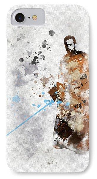 Obi-wan Kenobi IPhone Case by Rebecca Jenkins