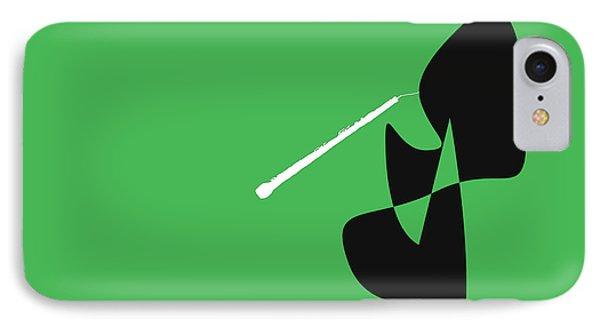 Oboe In Green IPhone Case