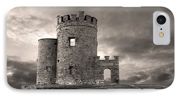 O'brien's Tower At The Cliffs Of Moher Ireland IPhone Case by Pierre Leclerc Photography