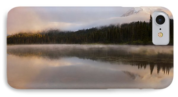 Obscured Dawn IPhone Case by Mike  Dawson