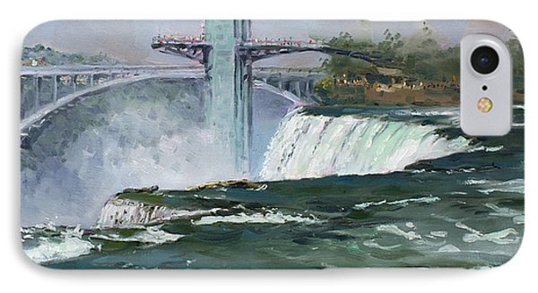 Observation Tower In Niagara Falls Phone Case by Ylli Haruni