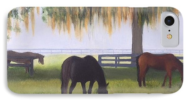 Ocala Stud IPhone Case by Vern Holdforth