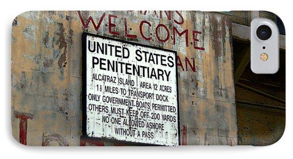 Occupy Alcatraz IPhone Case