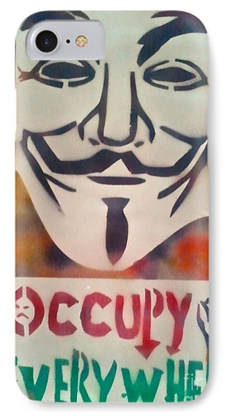 Occupy Mask IPhone Case by Tony B Conscious