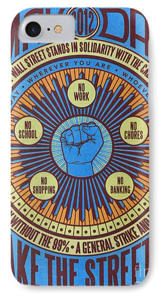 Occupy Wall Street, 2012 IPhone Case by Granger