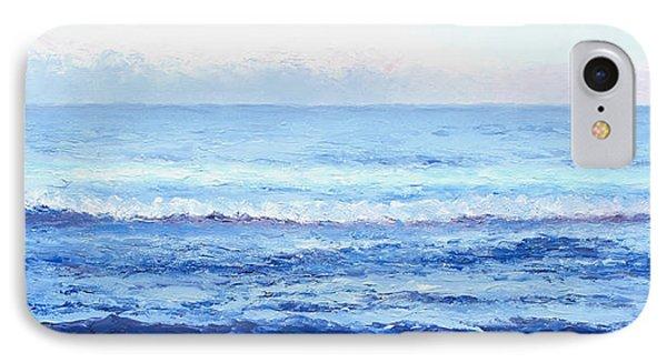 Ocean Art - Cobalt Blue Ocean IPhone Case by Jan Matson