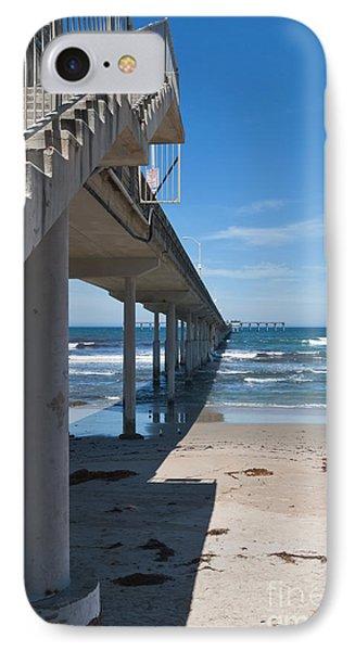 Ocean Beach Pier Stairs IPhone Case