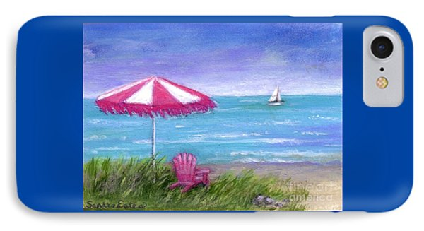 IPhone Case featuring the painting Ocean Breeze by Sandra Estes