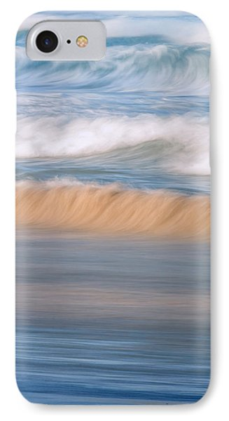 Ocean Caress IPhone Case by Az Jackson