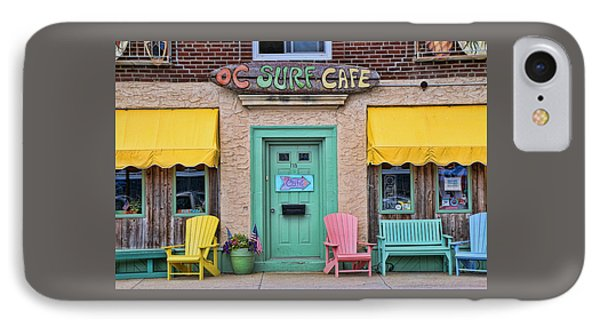 Ocean City N J Surf Cafe IPhone Case by Allen Beatty