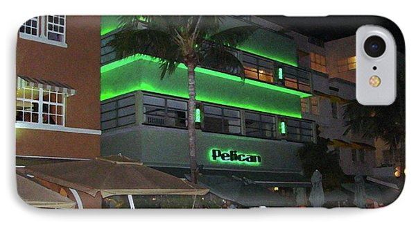 Ocean Drive Miami Beach IPhone Case