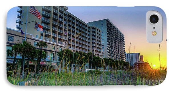 Ocean Drive Sunrise North Myrtle Beach IPhone Case