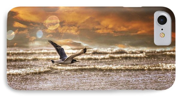 Ocean Flight IPhone Case by Aaron Berg