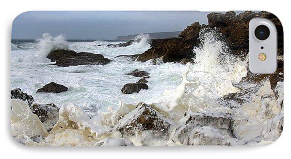 Ocean Foam Phone Case by Carlos Caetano