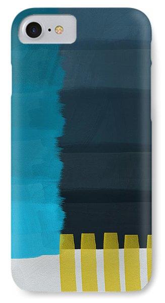 Ocean Front Walk- Art By Linda Woods IPhone 7 Case by Linda Woods