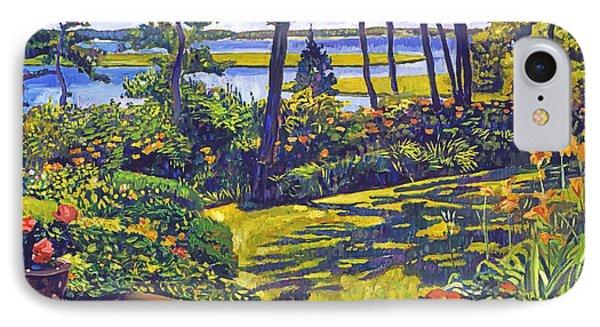 Ocean Lagoon Garden IPhone Case by David Lloyd Glover