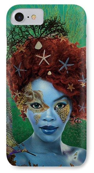 IPhone Case featuring the digital art Ocean by Nola Lee Kelsey