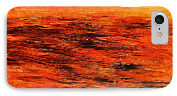 Ocean Of Weathered Thoughts IPhone Case by Rick Maxwell