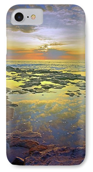 IPhone Case featuring the photograph Ocean Puddles At Sunset On Molokai by Tara Turner