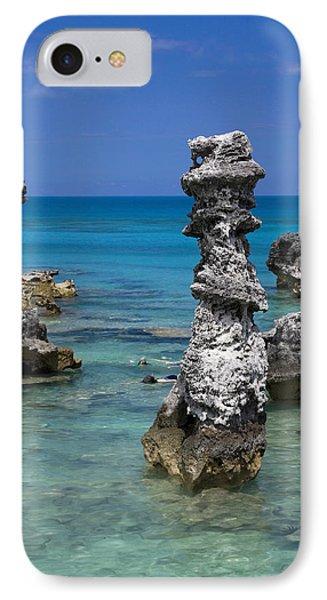 Ocean Rock Formations IPhone Case