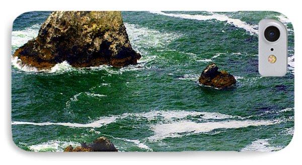 Ocean Rock Phone Case by Marty Koch