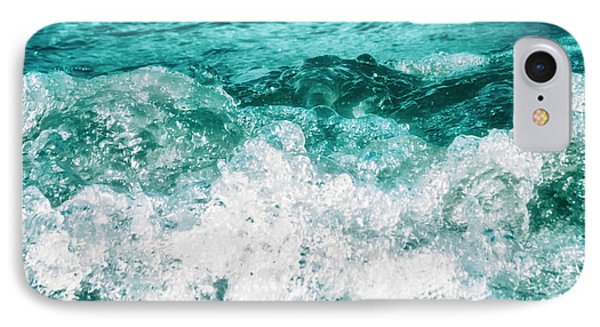 Ocean Splashes Phone Case by Wim Lanclus