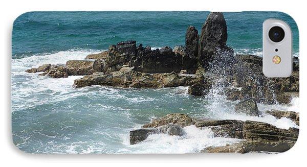 Ocean Spray Mid-air IPhone Case by Margaret Brooks
