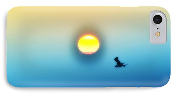 Ocean Sunrise Phone Case by Bill Cannon
