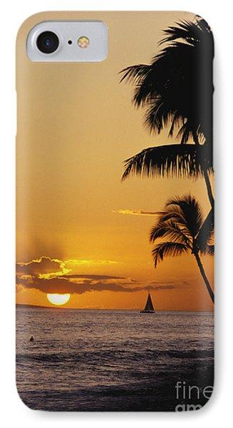 Ocean Sunset Phone Case by Erik Aeder - Printscapes
