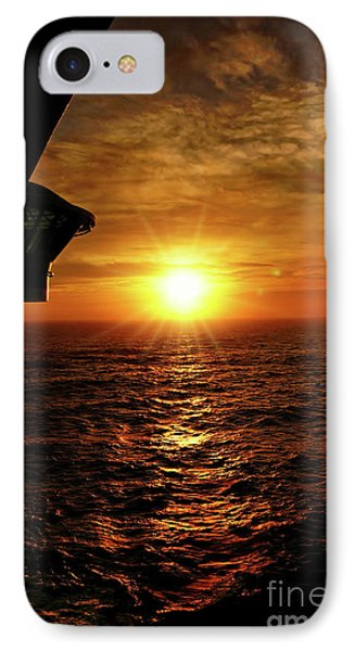 Ocean Sunset IPhone Case by Sue Melvin
