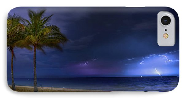 Ocean Thunderstorm IPhone Case by Mark Andrew Thomas