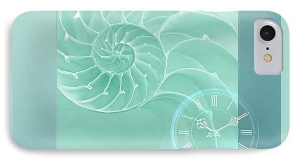 Ocean Time IPhone Case by Gill Billington